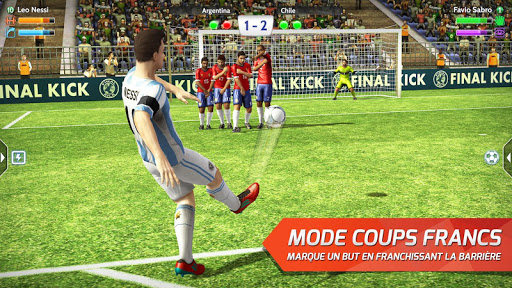 Final Kick 2018: Football en ligne fond d'écran 2