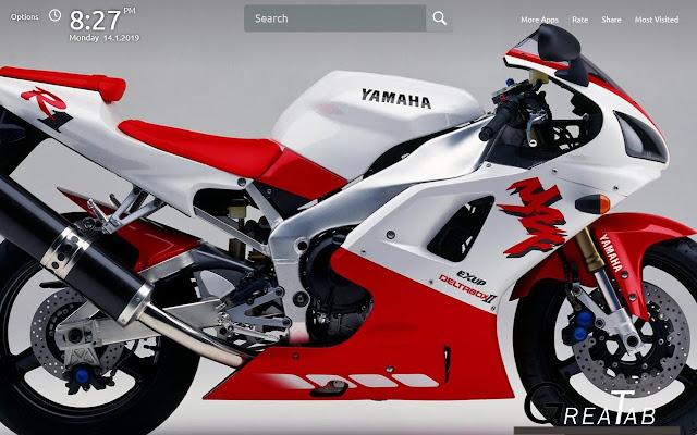 Yamaha YZF Wallpapers Theme|GreaTab