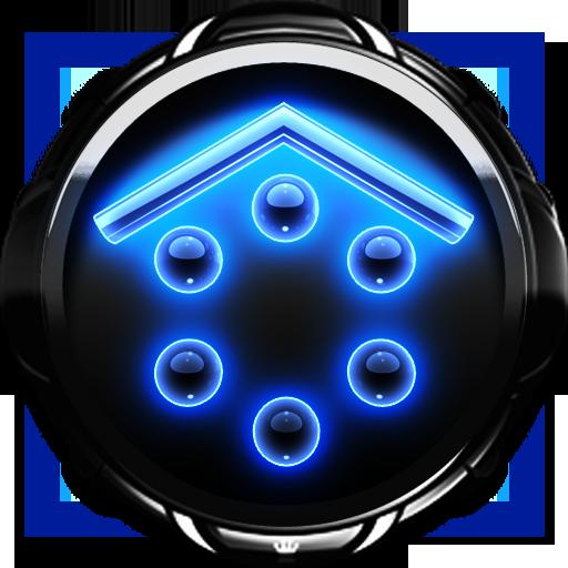 M Glow Smart Launcher theme