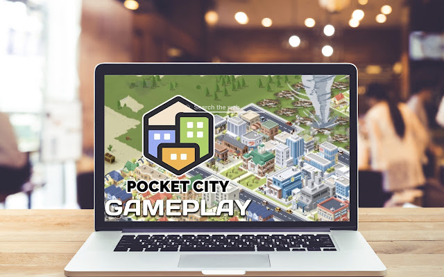 Pocket City HD Wallpapers Game Theme