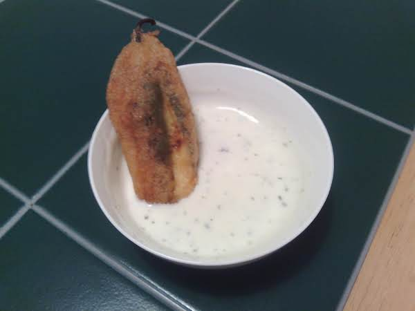 One Of My Tasty Poppers In Ranch. Yum!