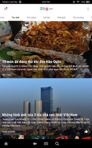 Zing.vn - Vietnam Daily News 20.09.01 Screenshots 5