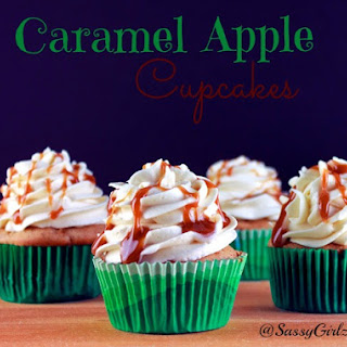 Caramel Apple Cupcakes Ultimate Fall Desserts!