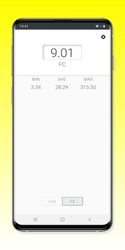 Light Meter - Lux Meter 2.0.4 Screenshots 3