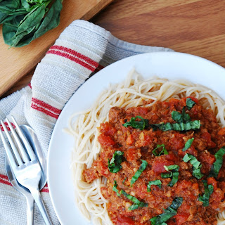 SLOW COOKER BOLOGNESE (GF, DF, EGG, SOY, PEANUT/TREE NUT FREE, TOP 8 FREE)