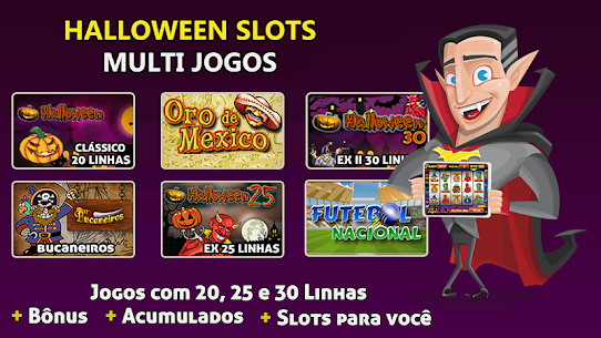 Halloween Slots 30 Linhas Multi Jogos Apk Latest Version Download For Android 6