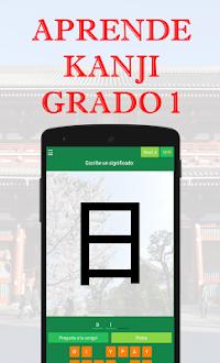 Aprende Kanji Grado 1 Gratis