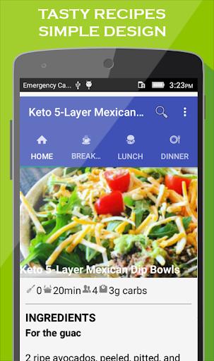 Keto Diet app : Best Low Carb & Keto Recipes 1.9 screenshots 2