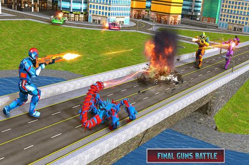 Scorpion Robot Transforming u2013 Robot shooting games 1.0 screenshots 1