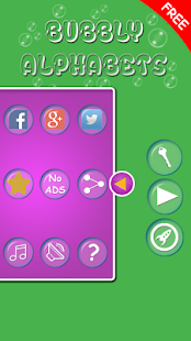 Bubbly Alphabets screenshot