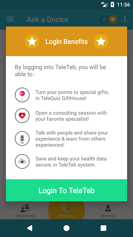 TeleTeb | Ask The Doctor- screenshot