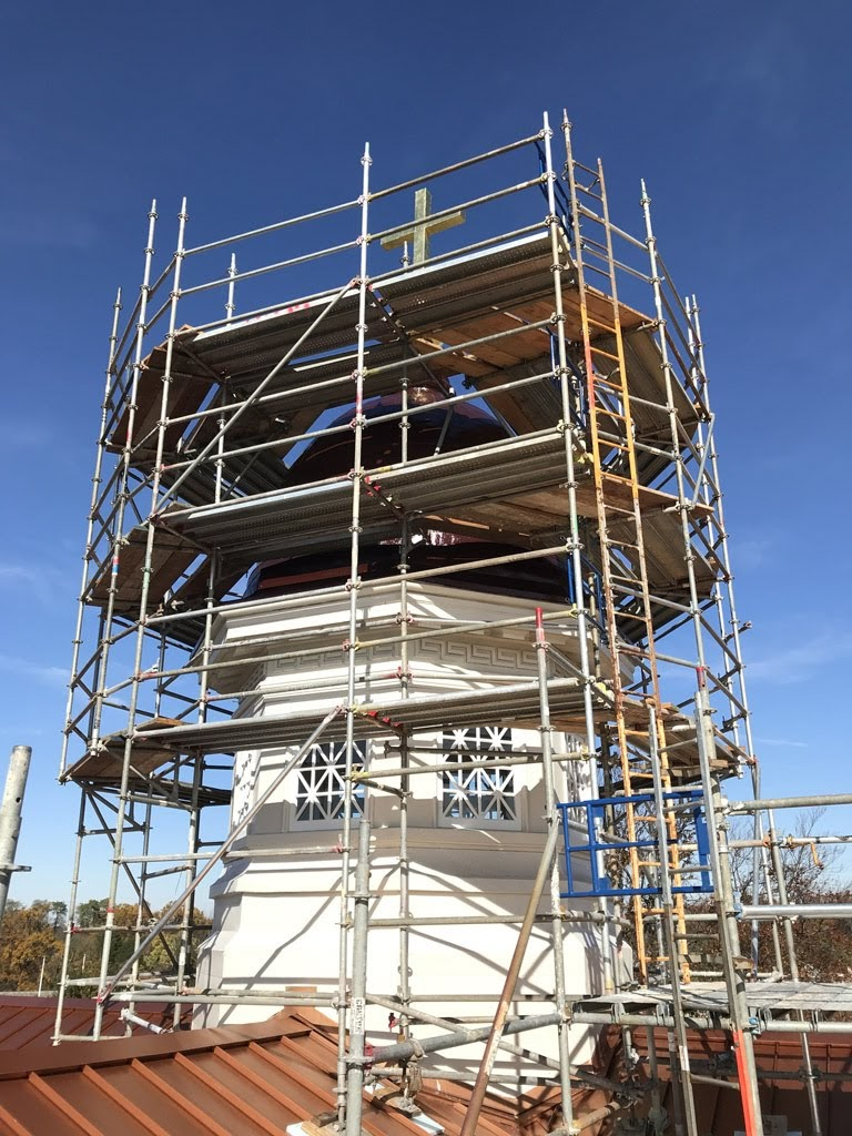 scaffolding, scaffold, superior scaffold, villanova university, philadelphia, PA, rental, access, work platform, masonry, painter