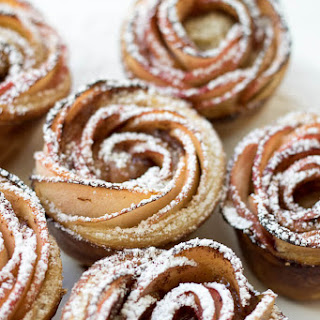 Apple Rose Puff Pastry.