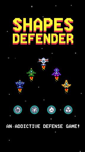 Shapes Defender captures d'u00e9cran 1