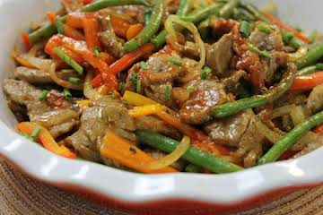 Spicy Stir-Fried Beef