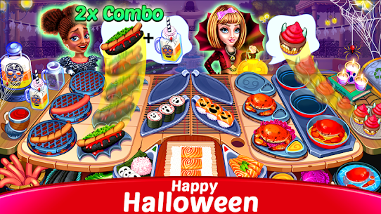 Halloween Cooking: Chef Madness Fever Games Craze 6
