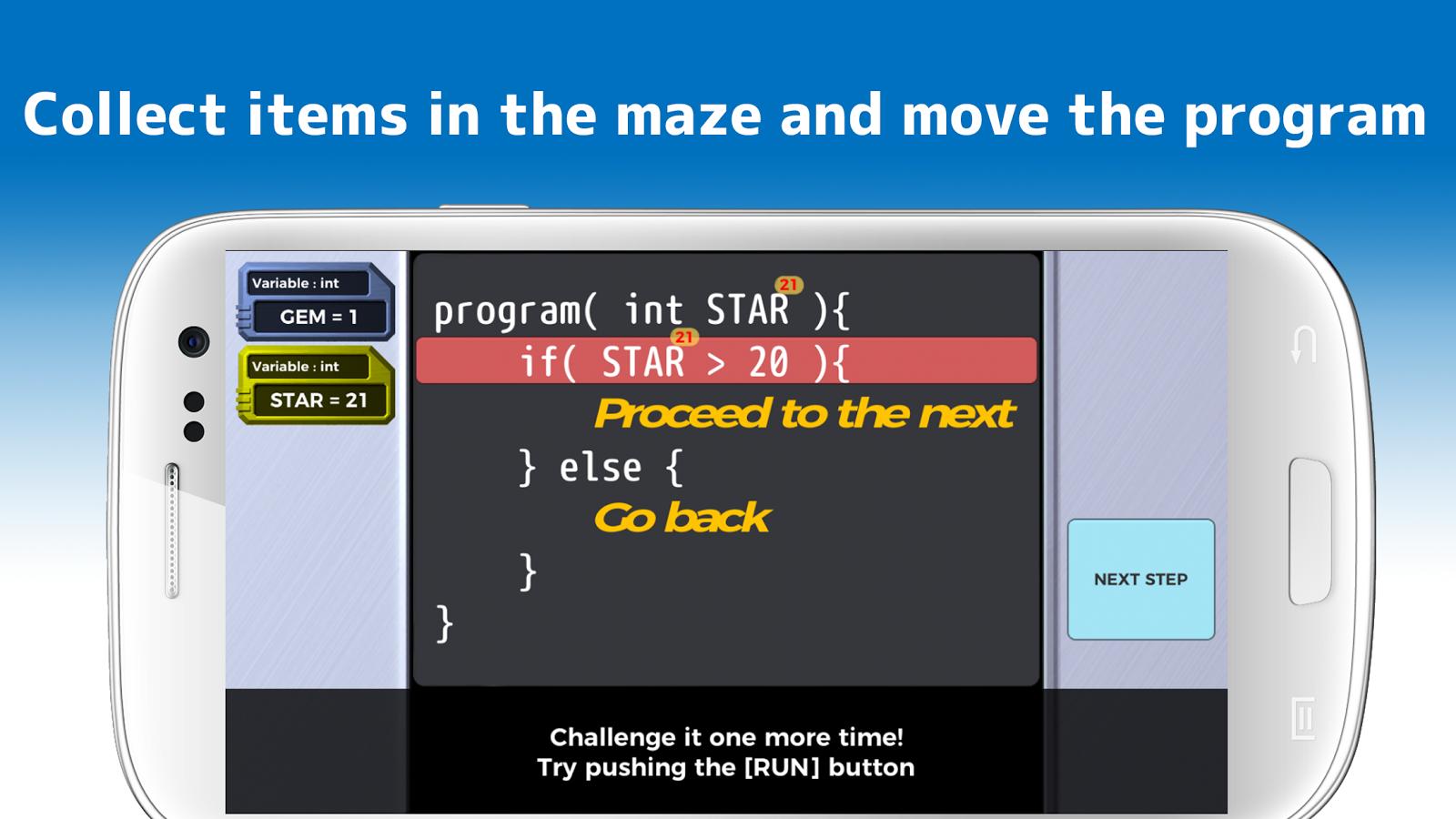 TRYBIT RUN - Learn programming by run