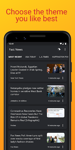 Fast News 3.5.5 Screenshots 5