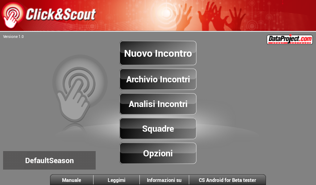 Click&Scout- screenshot