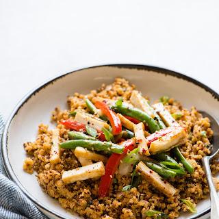 Red Curry Quinoa.