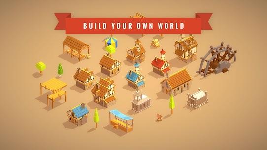 Pocket Build – Ultimate sandbox building MOD (Gold/Food/Wood) 3