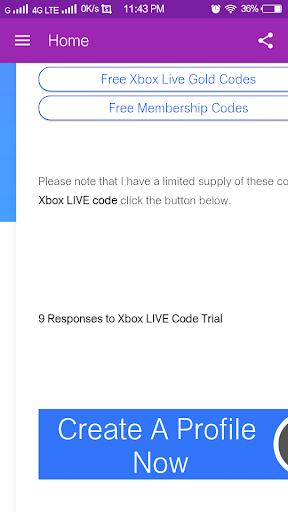 xbox live code generator apk free download