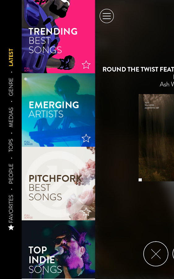 The Best Song - discover music- screenshot