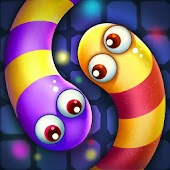 Snake Candy.IO - Real-time Multiplayer Snake Game icon