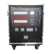 24Way LSC GenVI Dimmer Rack (no patch) front