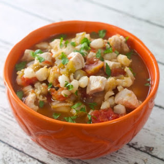 Slow Cooker Chicken Chili With Hominy
