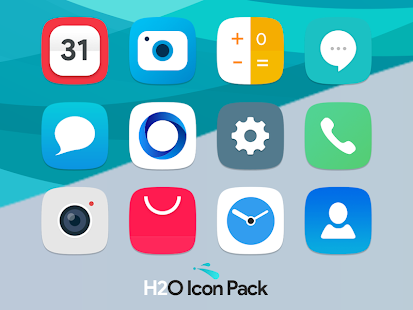 H2O Free Icon Pack Mod
