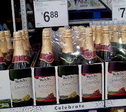 Photo: Drinks were on my list of items to get. Not many of us are wine drinkers, so sparkling grape juice was a perfect alternative! It's fun and makes me feel like I'm pampering myself a bit. I loved the price too! Cheaper than at the grocery store!