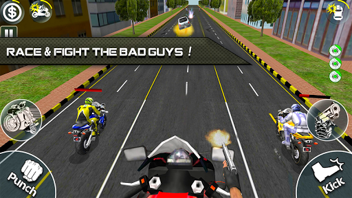 Bike Attack Race 2 - Shooting apk screenshot 1
