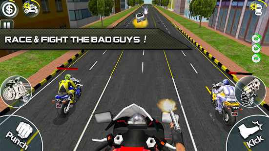 Bike Attack Race 2 - Shooting apk screenshot 1