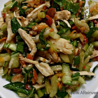 Bok Choy Salad with Ginger Sesame Soy Dressing