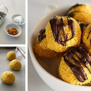 Chocolate Turmeric Truffles with Coconut Oil Recipe