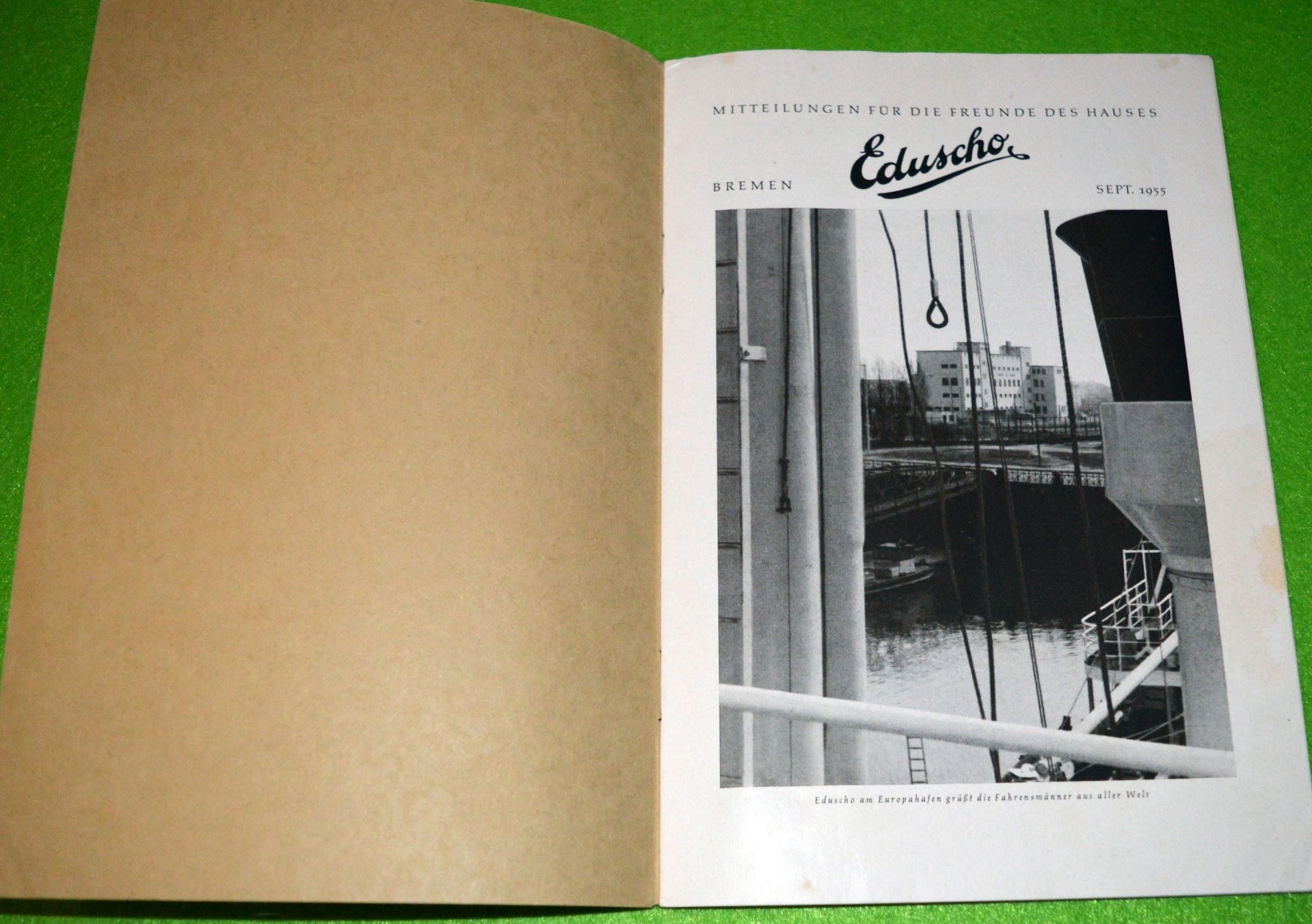 Mitteilungen für die Freunde des Hauses - Eduscho-Zeitung - 1955