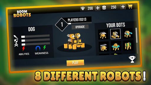 Code Triche Boom Robots! - Ground Battles Multiplayer Robots mod apk screenshots 3
