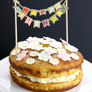Lemon Drizzle Birthday Cake