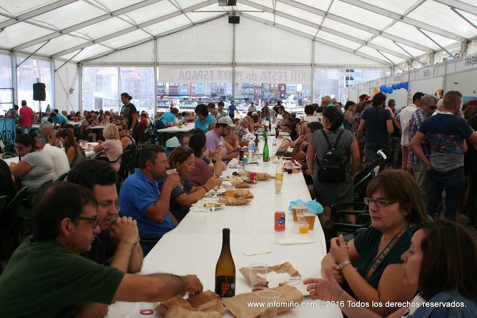 Este ano celébrase a XIV edición da Festa do Peixe Espada no Porto de A Guarda