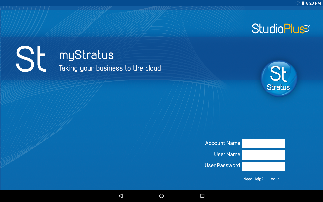 myStratus Business Management- screenshot