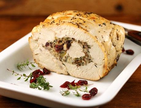 Turkey breast and stuffing recipe