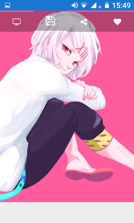 Descargar Tokyo Anime Ghoul Wallpaper By Appberno Apk última