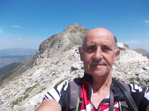 Photo: Selfie devant le Roc del Boc