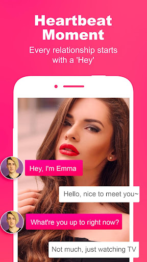 Spark Attractive and quick dating chats - screenshot