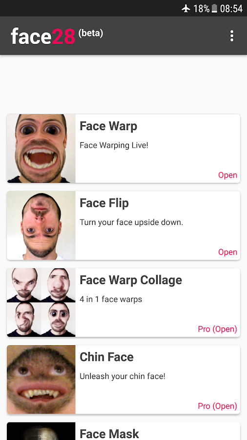 Face Changer Video- screenshot