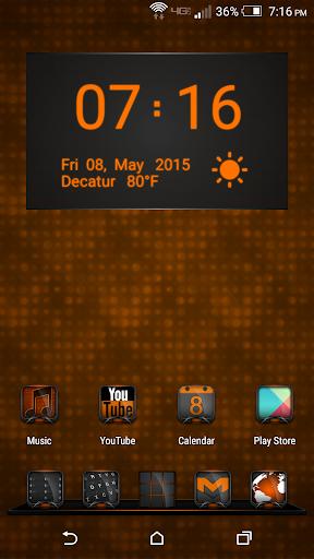 Vox Orange Theme