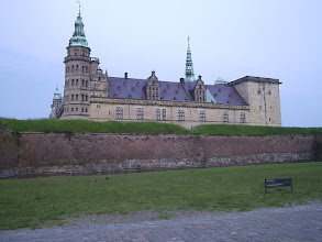 Photo: Kronborg Castle, Helsingor Denmark -- there was an evening reception