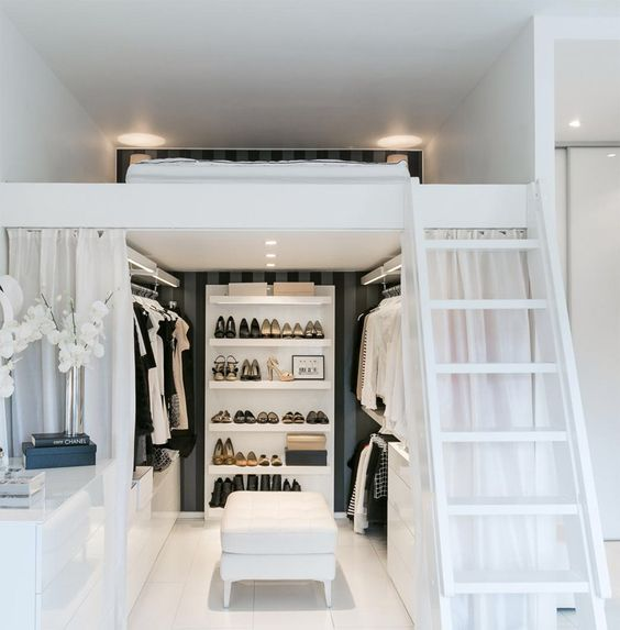 Loft Beds Allow the Maximization of Usable Space