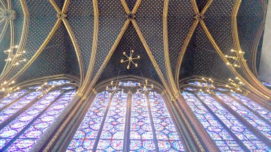 Photo: Sainte-Chapelle ceiling